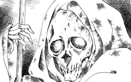 魔百合の恐怖報告「葬列の留袖」②