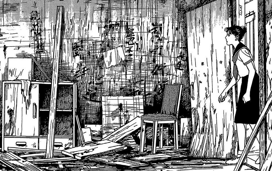 伊藤潤二傑作集「仲間の家」①