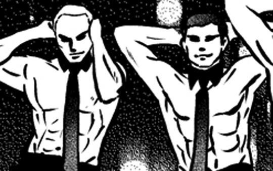 第12話「禁断のMale Strip潜入!」/人生リセット留学。