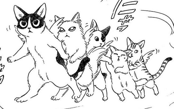 第33話「聖猫の行進」1/4×1/2 R(クォート&ハーフ)