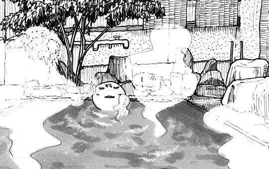 49歳、秘湯ひとり旅「杖立温泉」⑥