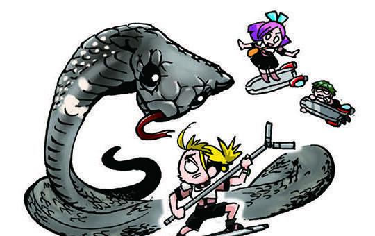 2章「猛毒ヘビの弱点は?」/バトル・ブレイブスvs.猛毒ヘビと殺人グモ