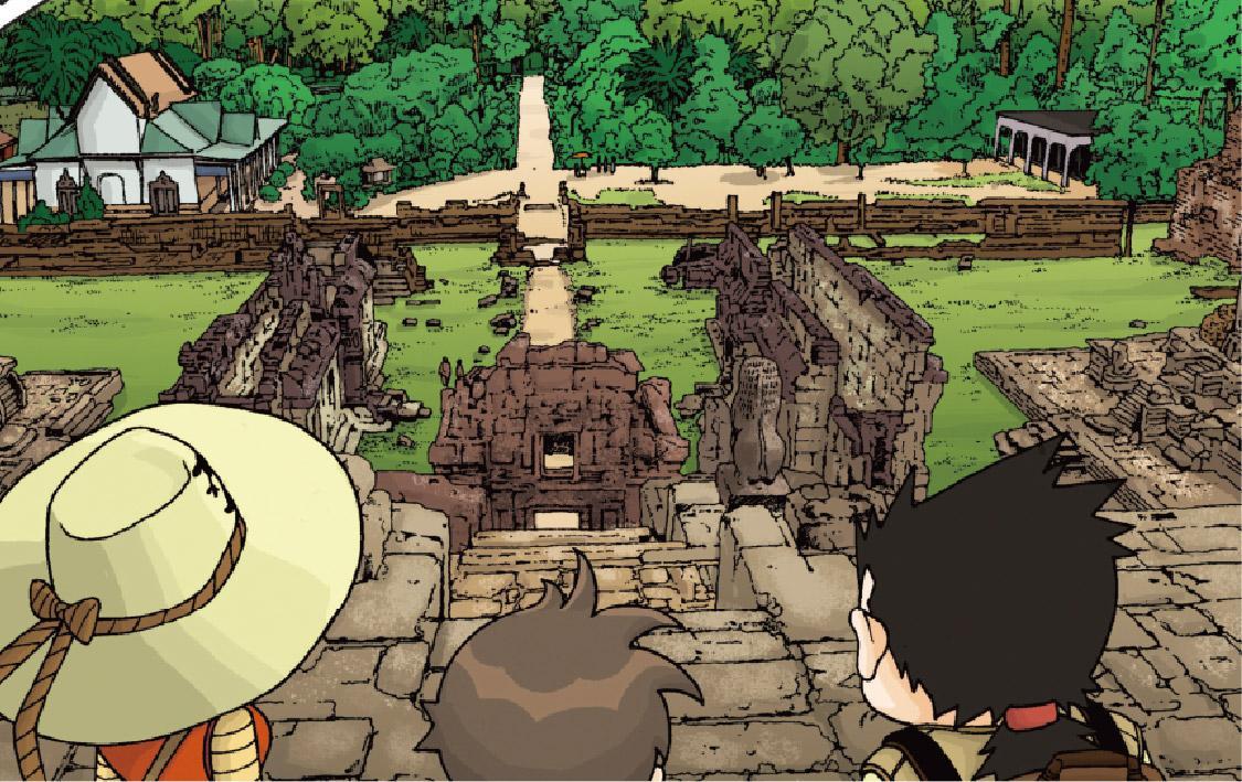 6章 シヴァの神殿、バコン/アンコール・ワットのサバイバル1